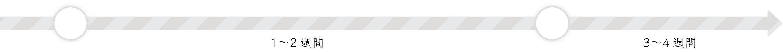 ルーブリックの納品まで1〜2週間、ルーブリックの納品から評価者トレーニングは3〜4週間ほどかかります。